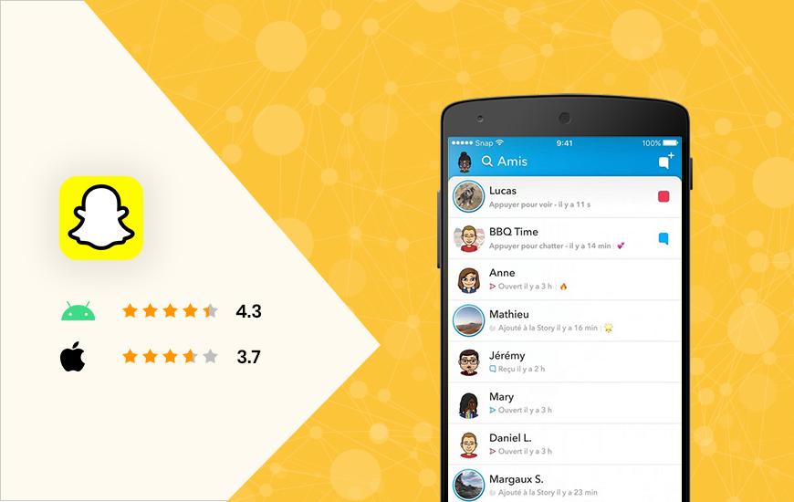 Snapchat - top social media apps