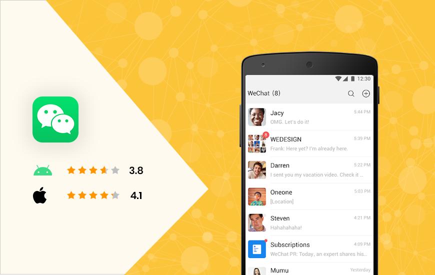 WeChat - popular social media apps