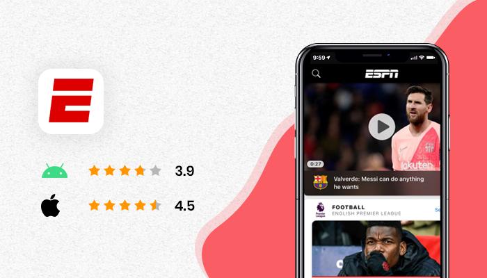 ESPN - Live Cricket Streaming App