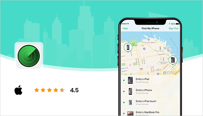 Find My iPhone - Best Location Tracking Apps