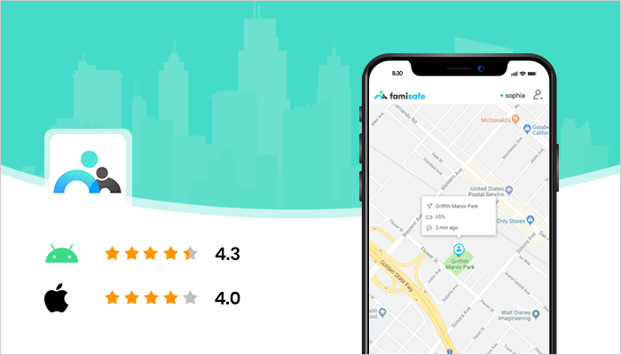 FamiSafe - Best Location Tracking Apps