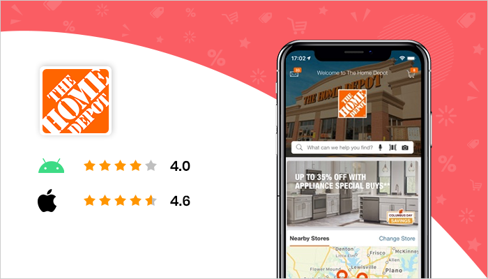 Home Depot - Best Black Friday App