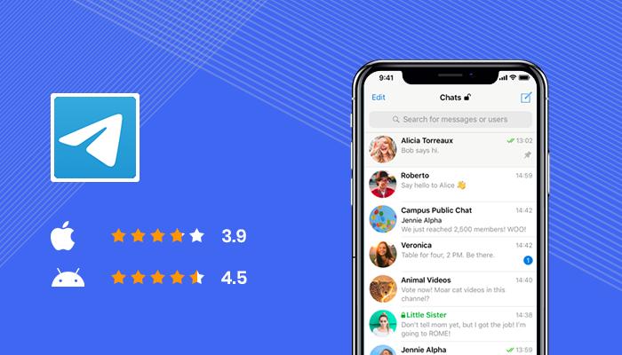Telegram -Best Apps For Secret Texting