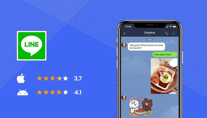 Line -Best Apps For Secret Texting