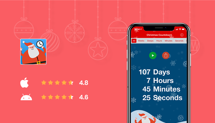 Christmas Countdown - Best Christmas Photo App