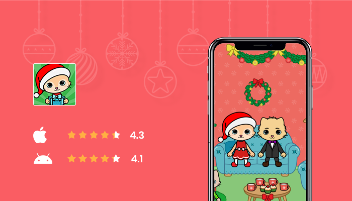 Yasa Pets Christmas - Best Christmas Game App