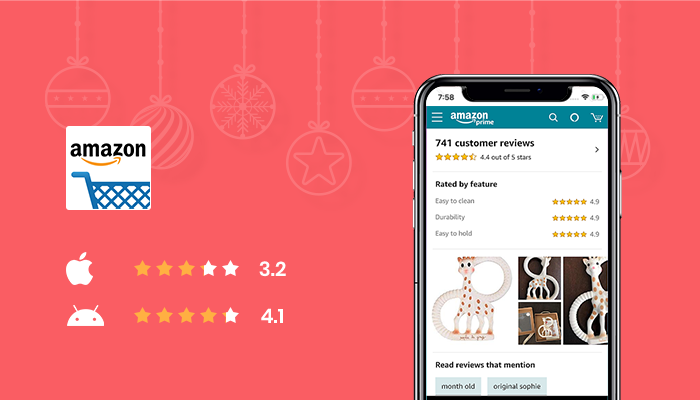 Amazon - Best App for Christmas Shopping