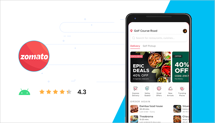 Zomato - Best Free Android App