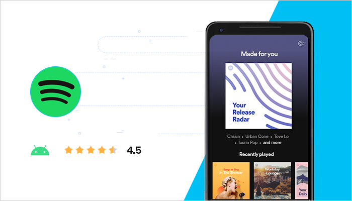 Spotify - Best Free Android App