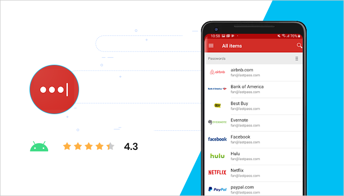 LastPass - Top Android App