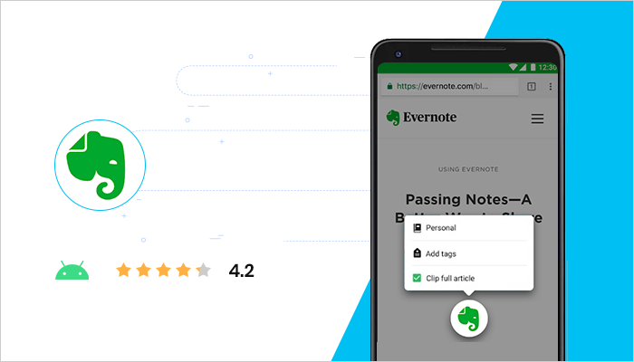 Evernote - Best Android Apps All Time