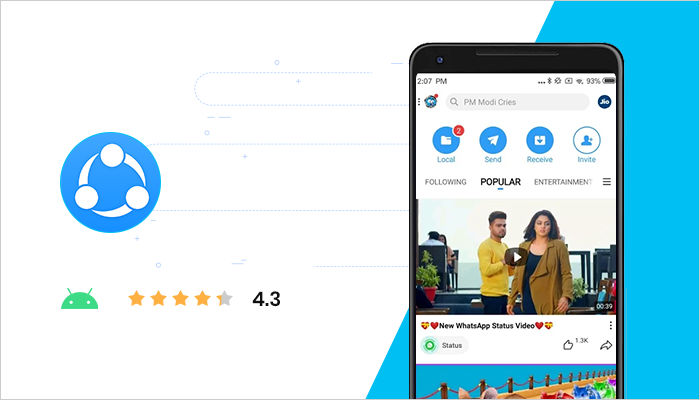 SHAREit - Best Android Apps All Time