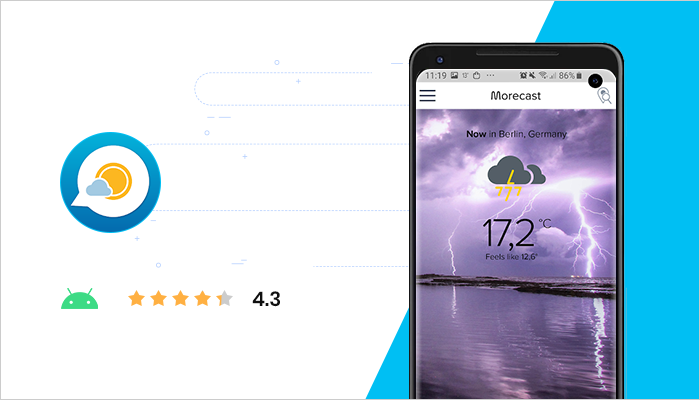 Morecast - Best Android Apps All Time