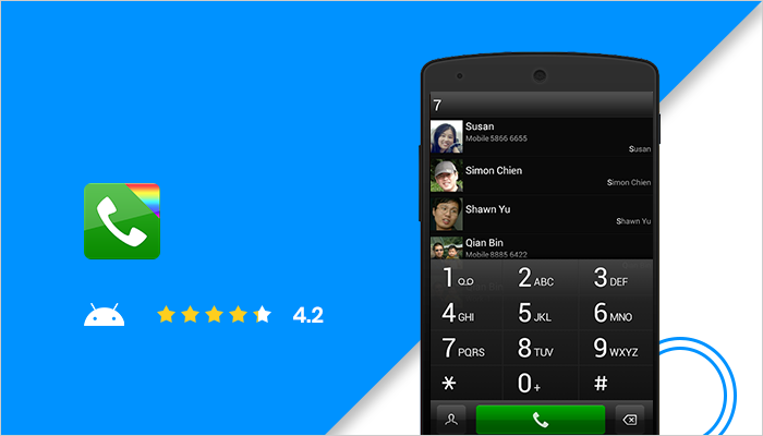 exDialer - Best Android Dialer