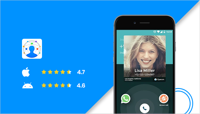 Eyecon  - Best Dialer App For Android