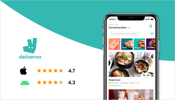 Deliveroo - Top Food Delivery App