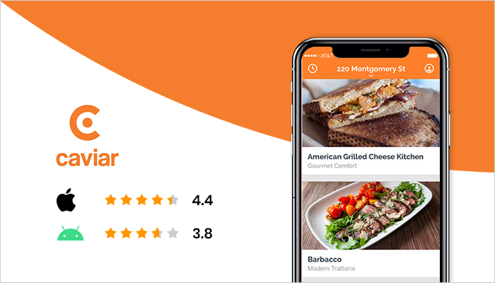 Caviar - Best Food Delivery App