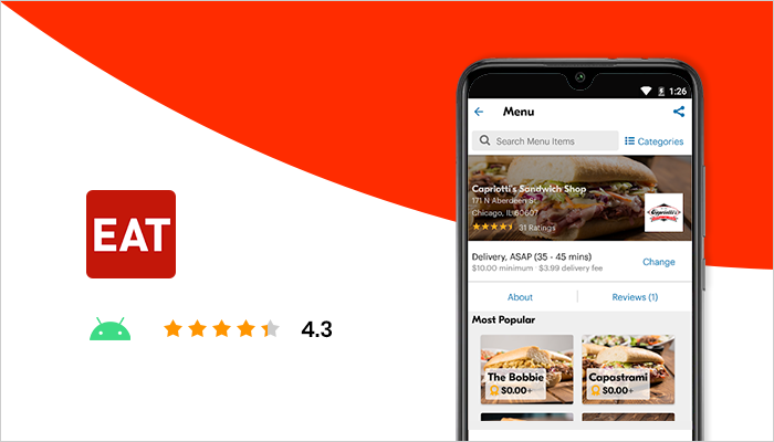 Eat24 - Most Popular Food Delivery App