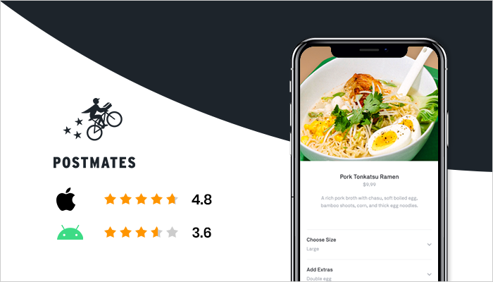 Postmates - Best Online Food Delivery App