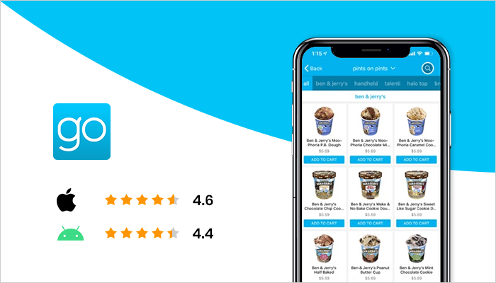 goPuff - Best Food Delivery App