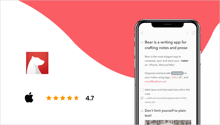 Bear - Top Note Taking App