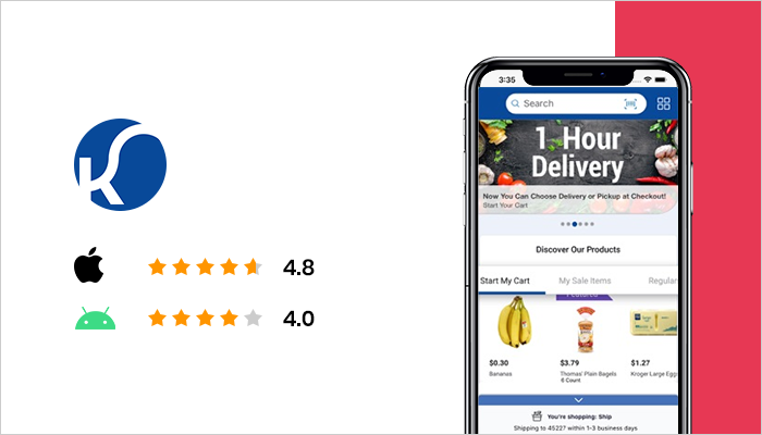 Kroger - Best Grocery List App