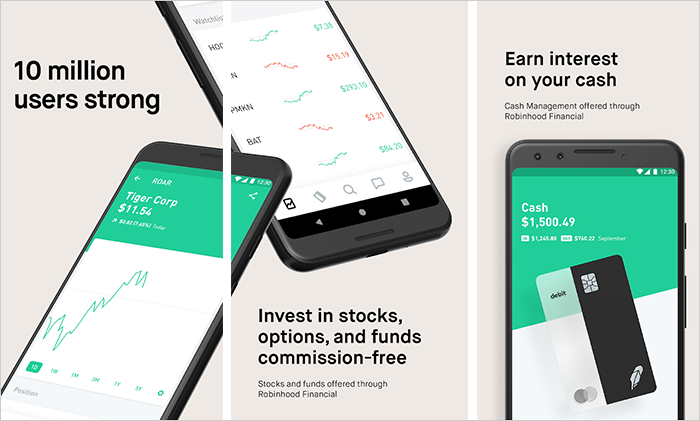 Robinhood Invest In Stocks Etfs Cryptocurrencies