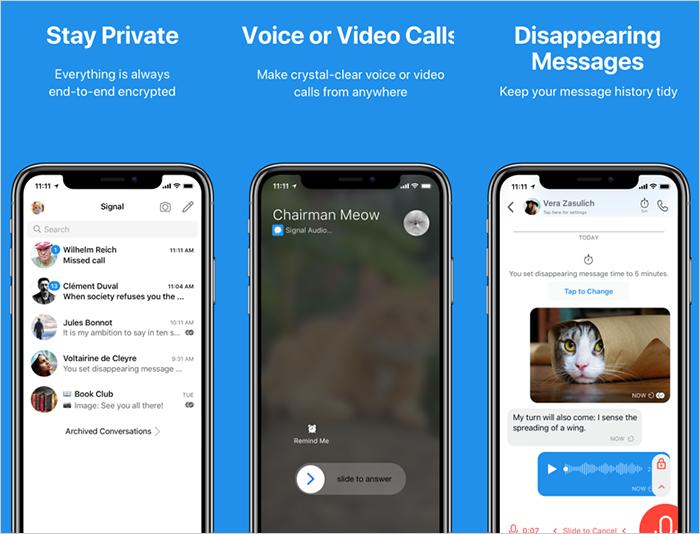 open-source messaging app