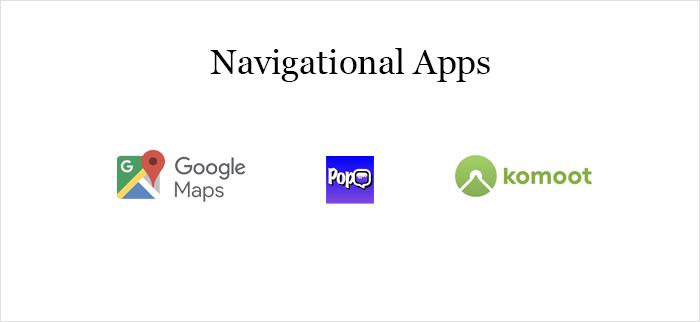 Navigetion app