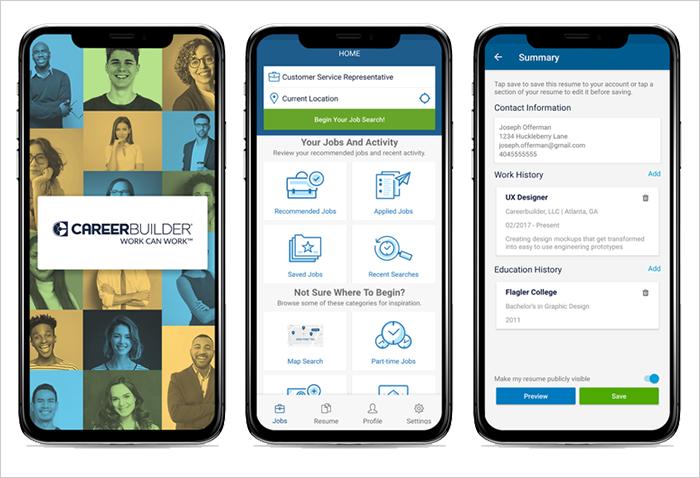 CareerBuilder jobs app