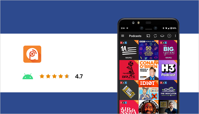 best podcast app android