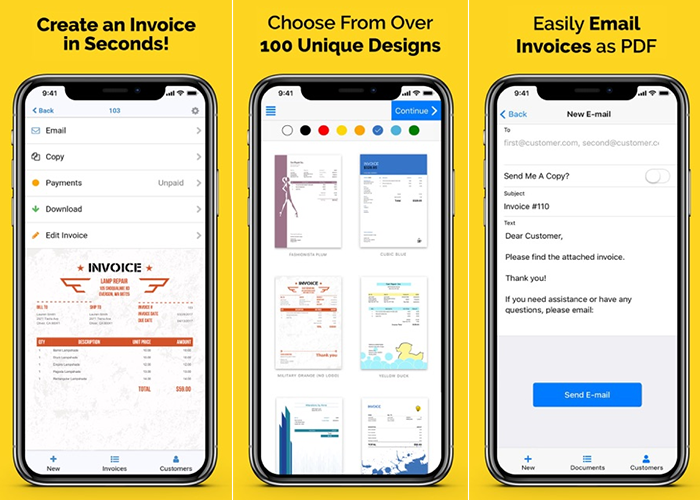 Invoice Home app review