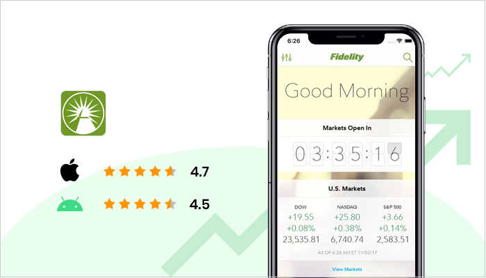 Fidelity Investments - Best Stock Trading App