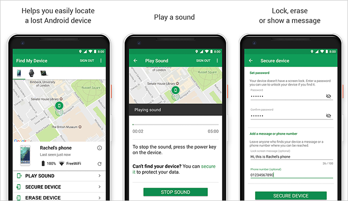With Google Find My Device Look Around For Your Gadgets Rapidly