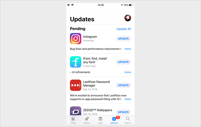 app store history
