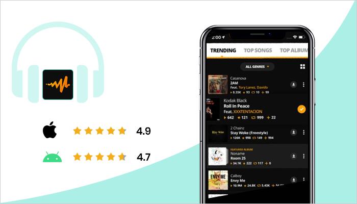 music listening app