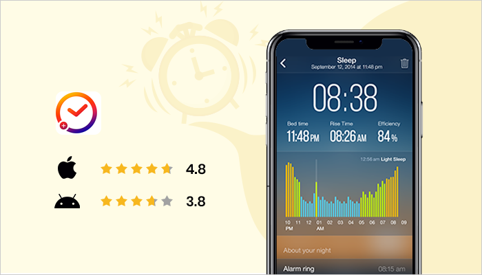 sleep monitoring app for android