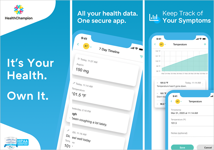 HealthChampion Health and Medical App