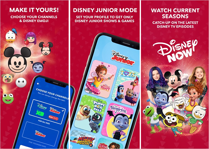 DisneyNOW 앱